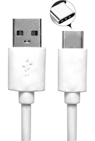 Ats Xiaomi Samsung HTC Type-C Hızlı Şarj Cihazı Seti 5V 3.0 A USB Hızlı Şarj Kablosu + Şarj Başlığı 1 mt Duvar Şarjı