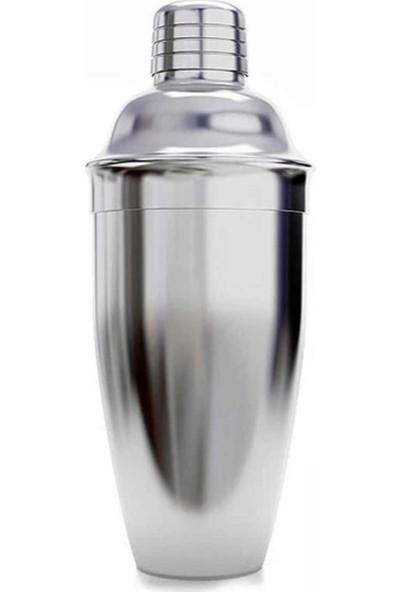 Biradlı Çelik Kokteyl Shaker