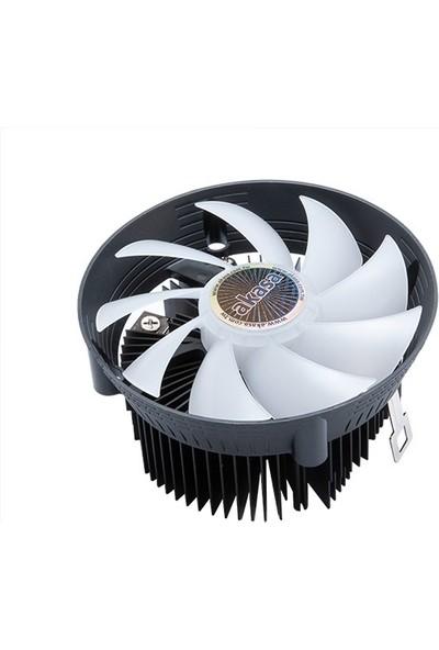 Akasa Vegas Chroma AM ARGB Adreslenebilir RGB Fanlı AM4 / AM3+ Soket Uyumlu PWM İşlemci Soğutucu (AK-CC1106HP01)