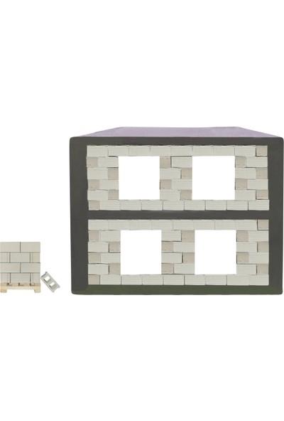Minimari Maket Minyatür Beton Ev İnşaat Seti