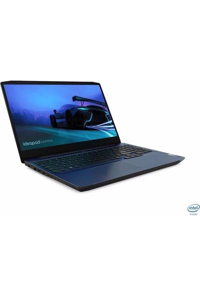 Lenovo IdeaPad Gaming 3 15IMH05 Intel Core i7 10750H 16GB 512GB SSD GTX1650Ti Freedos 15.6'' FHD Taşınabilir Bilgisayar 81Y400D3TX