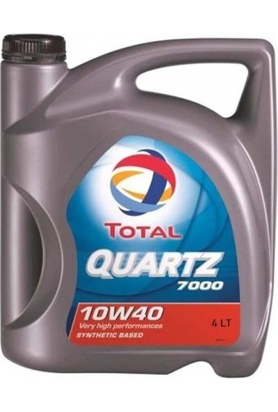 Total Quartz 7000 10w40 4 Litre Motor Yağ Benzin (Üretim Yılı 2020)