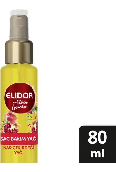 Elidor Gün Boyu Hacimli Saçlar Nar Çekirdeği Yağı Özlü Saç Bakım Yağı By Elvin Levinler 80 Ml