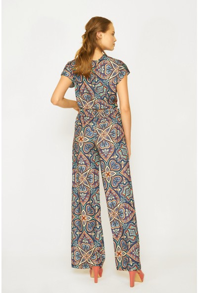 Batik Y42671 Dkm Dsn Casual Bluz Kısa Kol