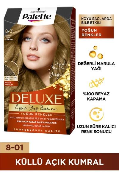 Palette Deluxe Yoğun Renkler 8-01 KÜLLÜ AÇIK KUMRAL
