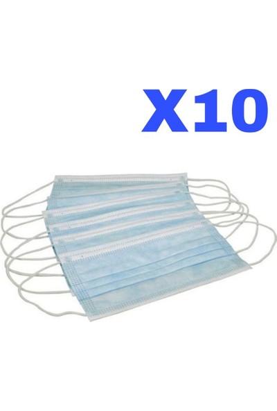 3M N95 Flex Ffp2 Ventilsiz Solunum Maskesi Steril Jelatinli 10 Adet + 10 Adet Cerrahi Maske+10 Adet Maske Takma Apratı