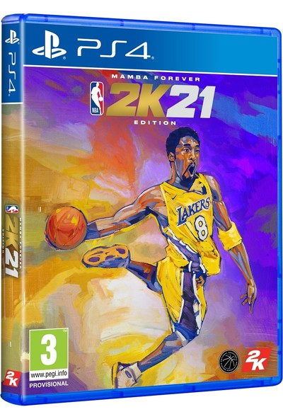 NBA 2K21 Mamba Forever Edition PS4 Oyun