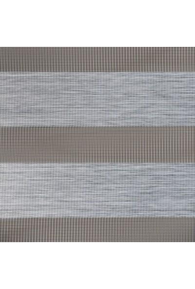 Gri Düz Zebra Perde Etek Dilimsiz 100 x 200 cm