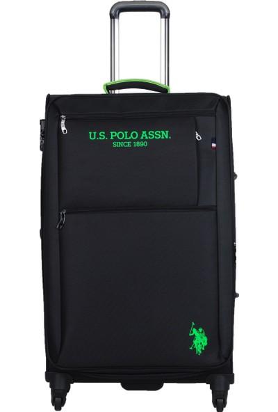 U.S. Polo Assn. İki Ön Bölmeli Büyük Boy Valiz PLVLZ9107A