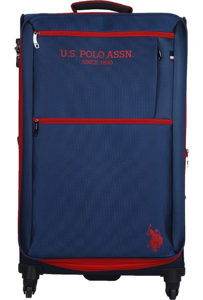 U.S. Polo Assn. İki Ön Bölmeli Büyük Boy Valiz PLVLZ9109A