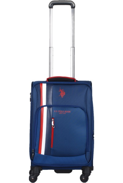 U.S. Polo Assn. İkonikk Şerit Detaylı Kabin Boy Valiz PLVLZ20225C