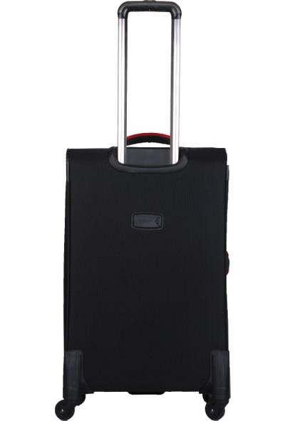 U.S. Polo Assn. İkonikk Şerit Detaylı Orta Boy Valiz PLVLZ20226B