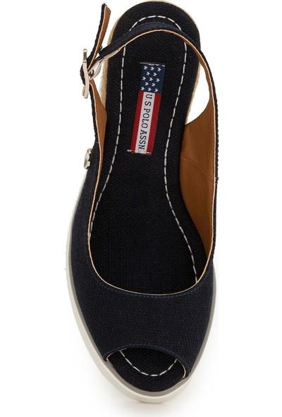 U.S. Polo Assn. Lacivert Ayakkabı 50222107-VR033