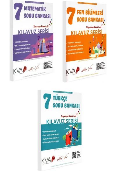 Koray Varol Kva Kılavuz Serisi 7. Sınıf Matematik Fen Bilimleri Türkçe Soru Bankası 3 Kitap