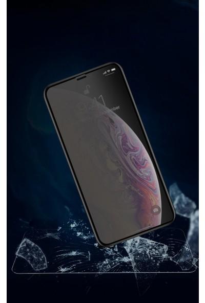Marcador Apple iPhone 11 / iPhone Xr Privacy Tempered Cam Ekran Koruyucu