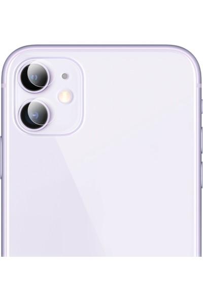Marcador Apple iPhone 11 Kamera Üstü Lens Koruma Camı