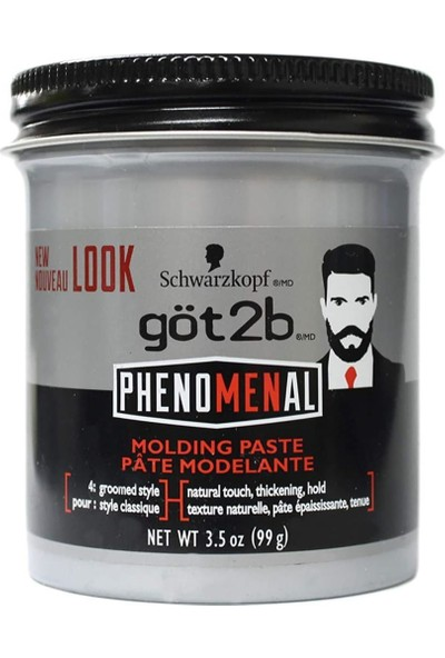Schwarzkopf GOT2B Phenomenal Wax 99.2 gr