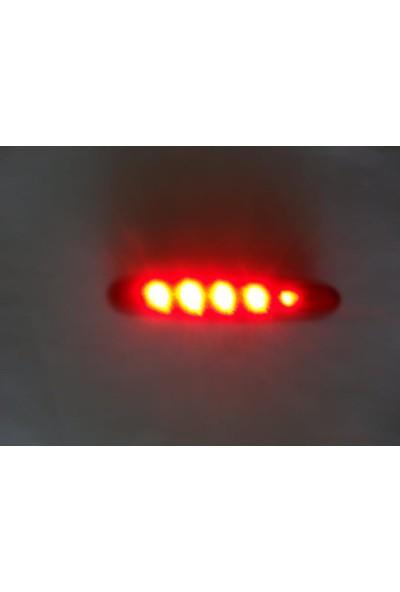 Netodak Bisiklet Stop Lambası Pilli Kırmızı Renkli Güçlü Işık
