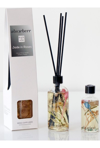 Absorberr Jade In Roses Çubuklu Oda Kokusu 100 ml
