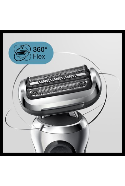 Braun Series 7 S7200cc Kablosuz Tıraş Makinesi