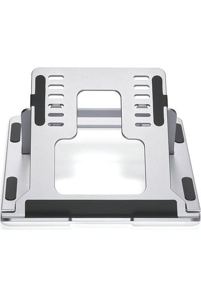 iDock N24-3 Yükseklik Ayarlı Kademeli Katlanır Portatif Notebook Standı
