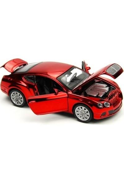 Vardem Die-Cast Bentley Gt W121:32 Ölçek Metal Çek Bırak Sesli Araba