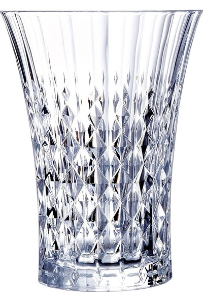 Cristal D'arques Lady Diamond 6'lı Kristal Su Bardağı 280 ml