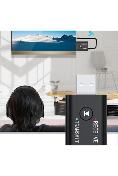 Ally 2in1 Bluetooth 5.0 Mini USB Adaptör+Fm Transmitter