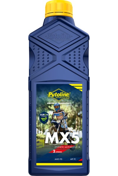 Putoline Mx5 Off Road 2 Zamanlı Motor Yağı 1 lt