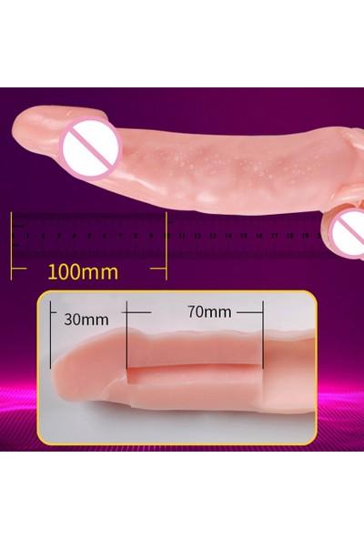 Red Storm 20 cm Full Realistik Gerçekçi Penis Kalın Vibratör Dildo