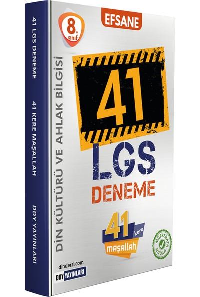 Ddy Yayınları 8.sınıf LGS Din Kültürü ve Ahlak Bilgisi Efsane 41 Deneme