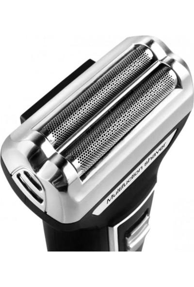 Atasbey - 3 In 1 Saç Sakal Kesme Ense Burun Tıraş Traş Makinesi Seti