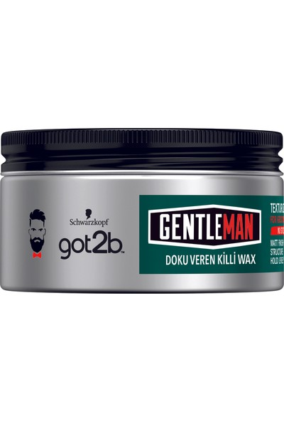 Got2B Gentleman Doku Veren Killi Wax 100Ml