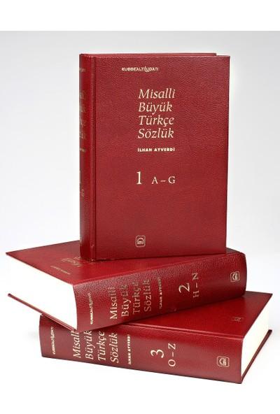 Misalli Büyük Türkçe Sözlük - 3 Cilt Takım (Ciltli)
