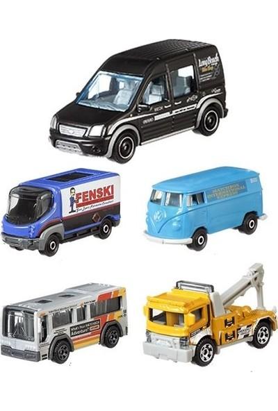 Matchbox Metal Beşli Araba Seti Mbx Servıce Crew C1817-GBJ09