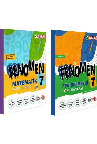 Gama Yayınları 7. Sınıf Fenomen Matematik Fen Bilimleri Soru Bankası Seti 2 Kitap
