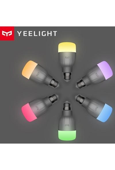 Xiaomi Yeelight Wi-Fi Akıllı LED Ampul E27 Rgbw Smart LED -Colorful Edition 16M Renk (Yurt Dışından)