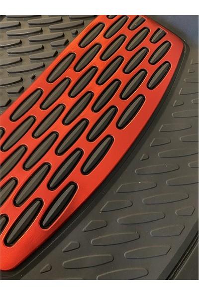 Safi̇r Citroen C-Elysee Uyumlu 4d Extra Derin Havuzlu Paspas Kırmızı