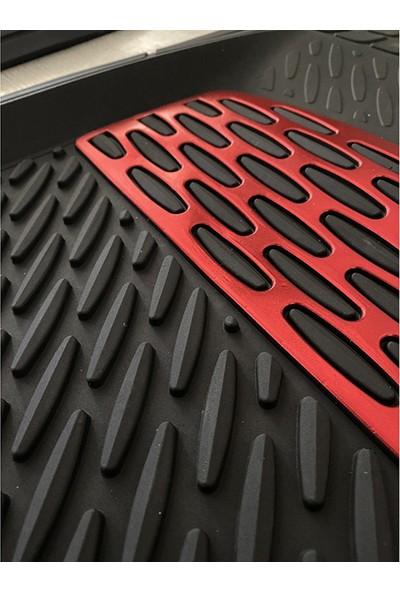 Safi̇r Renault 12 Uyumlu 4d Extra Derin Havuzlu Paspas Kırmızı