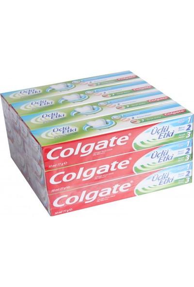 Colgate 3'lü Etki 50 ml Nane Ferah - 12'li Paket
