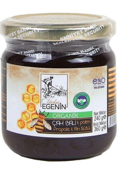 Organik Çam Balı -Propolis -Polen -Arı Sütü 240 Gr