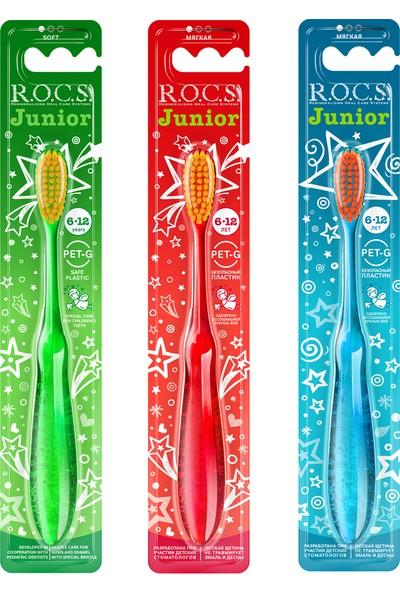 Rocs Junior Diş Fırçası - 3 Adet