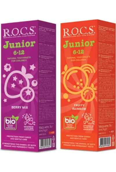 Rocs Junior Florürsüz 2'li Karma Tat Seti - 74 gr x 2 Adet