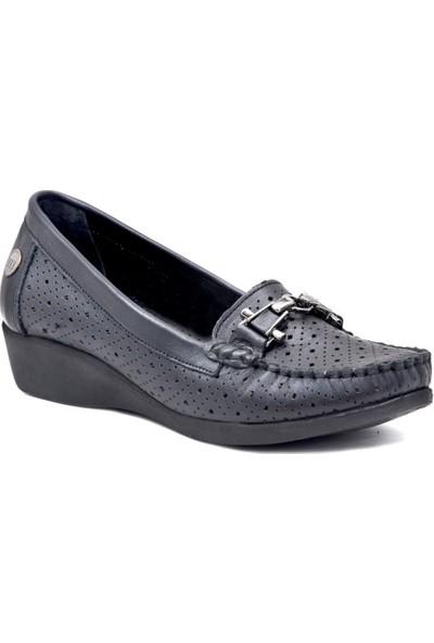 Mammamia D19YA-3705 Deri Kadın Ayakkabı