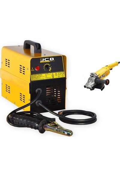 JCB Projcb Plus 250 Amper Tam Bakır Sargılı Kaynak Makinası Turbo Fan 4 Elektroda Kadar Eritir