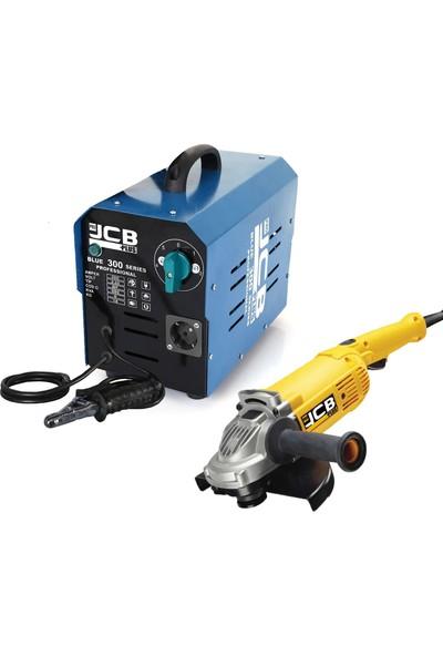 JCB Projcb Plus Blue 300 5 Kademeli Kaynak Makinası 300 Amper Bakır Sargılı Jeneratör Özellikli Hediyeli