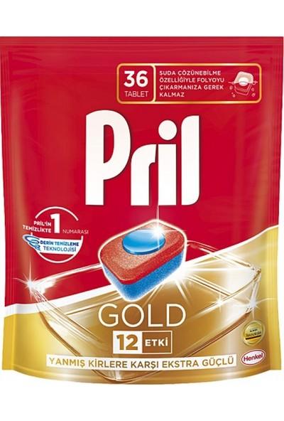 Pril Gold Tablet 36'lı-6'lı