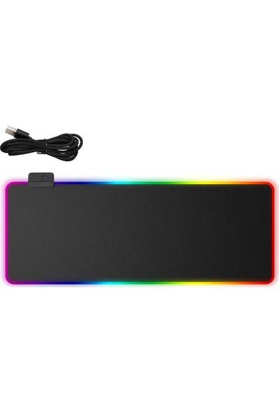 Valkyrie RGB 7 Renkli 800 mm x 300 mm x 4 mm XL Mousepad
