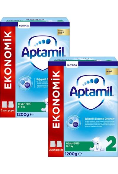 Aptamil 2 Devam Sutu 1200 gr - 2 Adet