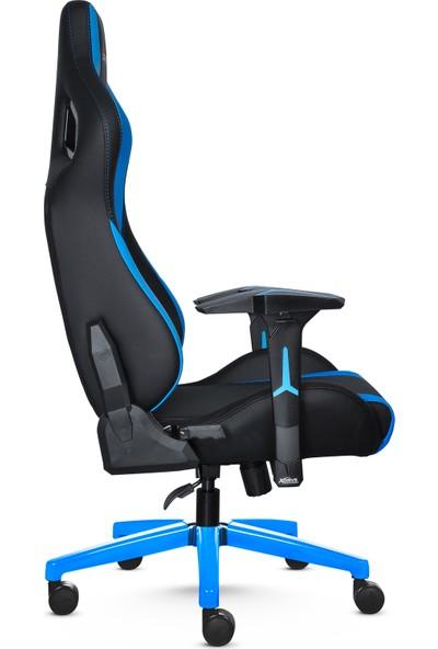 Xdrive Akdeniz Profesyonel Oyun Oyuncu Koltuğu Mavi Siyah